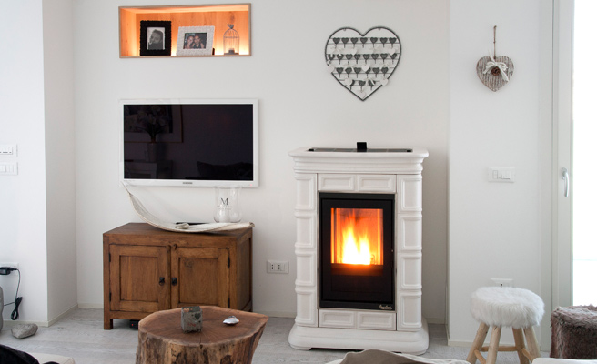 Stufe A Pellet Shabby Chic.The Perfect Stove For A Shabby Chic House Yourfire