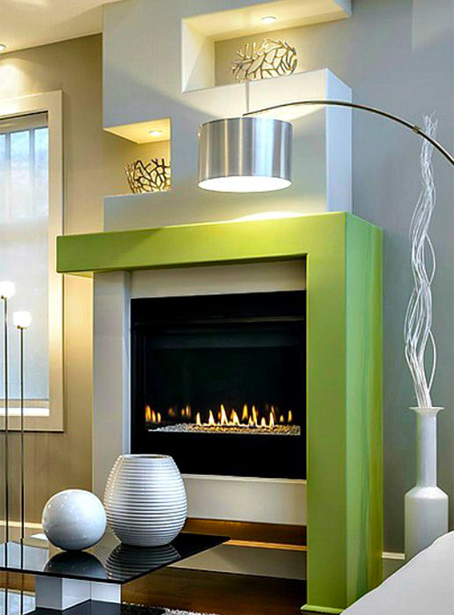 Fireplaces Greenery - YourFire