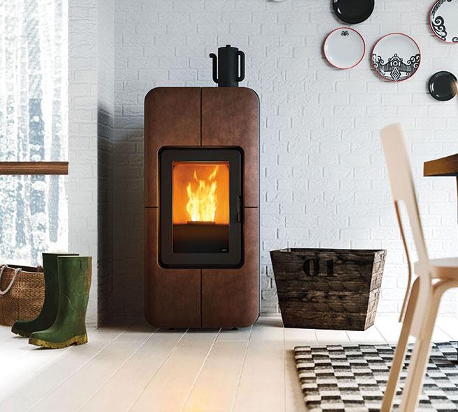 toba stove pellet design