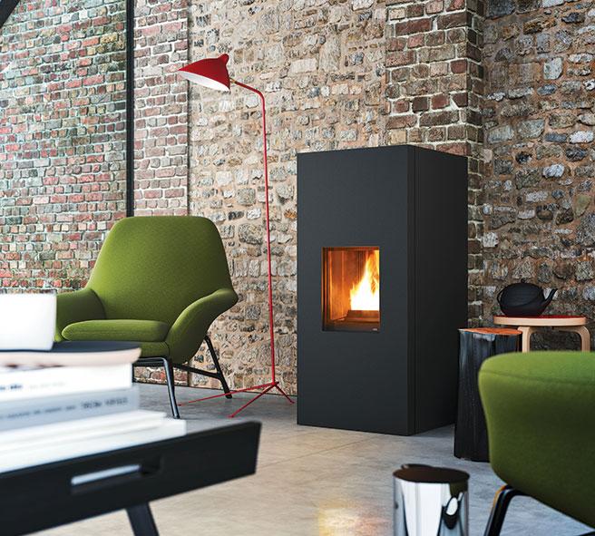 Nordic design in italian style yourfire - Feu a pellet ...