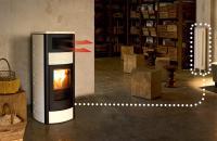 Duo hydro stove MCZ