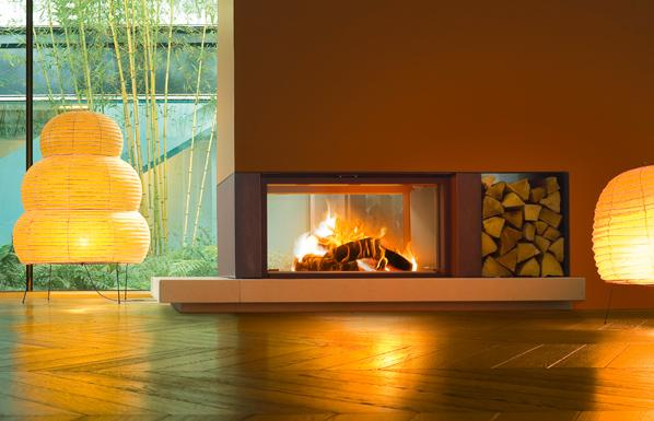 Forma - Wood-burning fireplace by MCZ