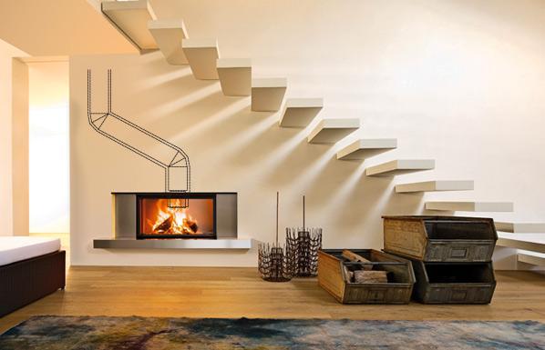 Guttuso MCZ fireplace