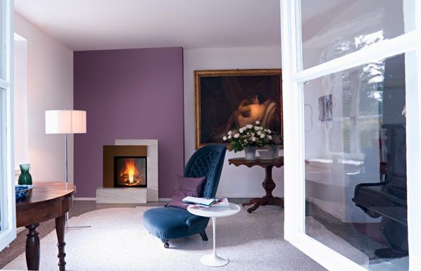 Mondrian fireplace MCZ