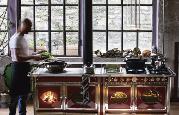 Wood-burning Range Cooker J.Corradi