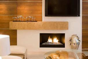Caminetti moderni su misura gover sr fireplace in the living