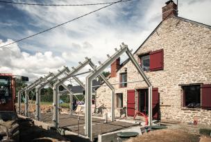 Projet en Bretagne avec poêle MCZ
